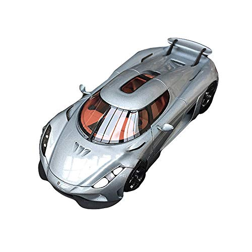 Automodell - Kollektion Für Erwachsene/Kinderspielzeug, 1:43 Druckguss/Ornamente,Silver