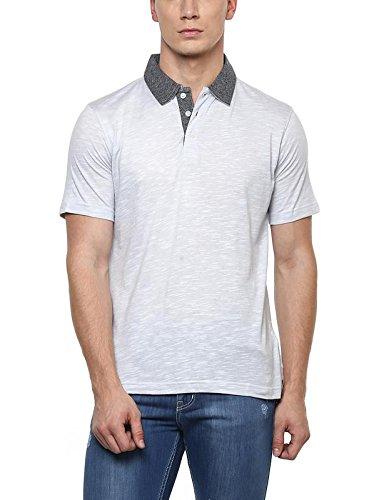 American Crew Men's Polo Collar T-Shirt (Grey)
