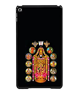printtech Lord God Tirupati Balaji Back Case Cover for Apple iPad 6