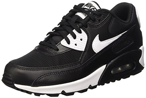 Nike Damen Air Max 90 Essential Sneakers, Schwarz