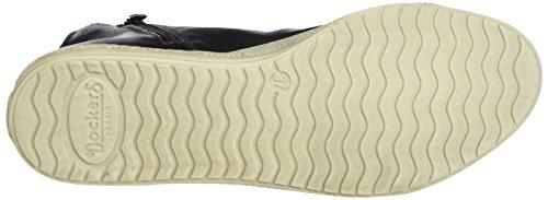 Dockers by Gerli Damen 32ln213-610231 Sneaker Schwarz (Asphalt/Schwarz)
