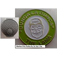 La lama Golf Ball Marker W/Silver Hat