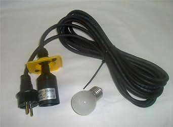 5m anschlu kabel passend f r herrnhuter sterne gelb. Black Bedroom Furniture Sets. Home Design Ideas