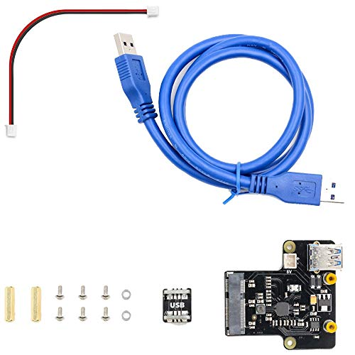 Pi Platte (Semoic Raspberry Pi X850 Msata Ssd Fest Platten Erweiterungs Karte Unterstützt 1 Tb USB 3.0)