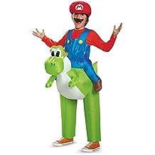 Disfraz hinchable Mario sobre Yoshi Nintendo niño