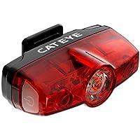 CatEye CA475RAPMIN Trasera con Mini Luces y reflectores, Negro