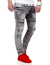 MT Styles Destroyed Jeans Slim Fit pantalon RJ-2056