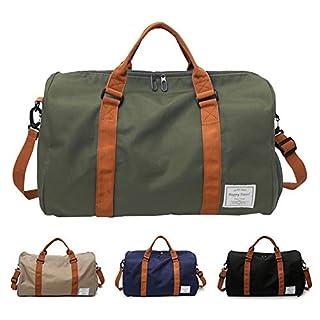 322b33d210d5f FEDUAN Handgepäck mit Schuhfach Trainingstasche Fitnesstasche Gym-Tasche  Sporttasche hochwertige Reisetasche Schultergurt Herren und Damen