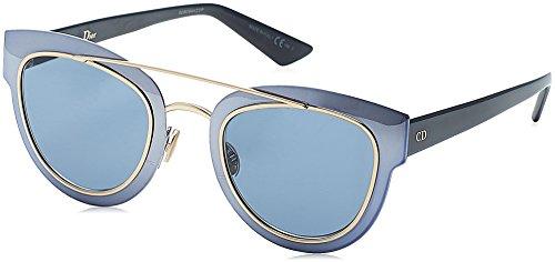 Dior Damen DIORCHROMIC 9A RKZ Sonnenbrille, Blau Bluette, 47
