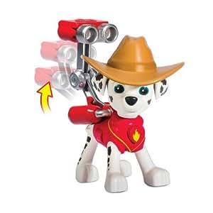 Figurine Pat'Patrouille (PAW Patrol) : Sac à dos Cowboy : Marshall