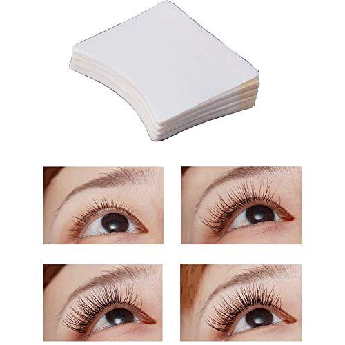 40pcs Wattepads Fusselfreie Makeup Remover Pads, Wimpernverlängerung Selbstklebende Wattepads Praktisches Makeup Einweg, reinigende Wattepads (Augenrötung)