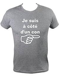 adacdc12f1cca Boutique KKO T-Shirt Humoristique Je Suis À Côté ...
