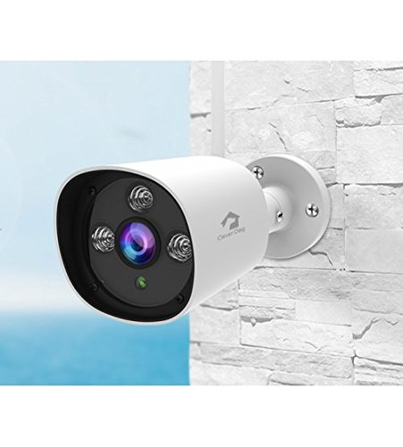Cleverdog DOG-6W Outdoor 120° Wifi/IP Night Vision Camera 1080P Security Weatherproof Surveillance Two-Way Audio Camera By SafeSales 1
