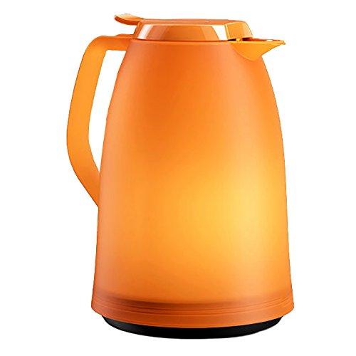Emsa 514982 Isolierkanne, 1.5 Liter, Quick Tip Verschluss, 100{4b97c6da9c6a1e740f4ec43e913bfe5fdf6c350260adf3362c67afc5a146c2d7} dicht, Orange, Mambo