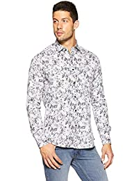 KILLER Men's Printed Slim Fit Casual Shirt