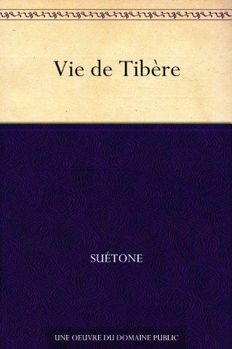 Couverture du livre Vie de Tibère
