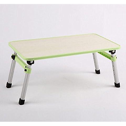 uzi-lazy persone benessere Fashion Solid Laptop Tavolo, letto, pieghevole, impermeabile c