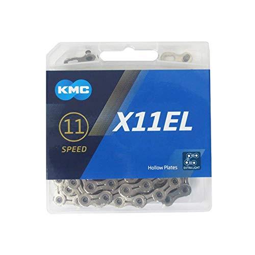 """Fahrradkette KMC X11L Silver 1/2 x 11/128"""", 112 Glieder"""