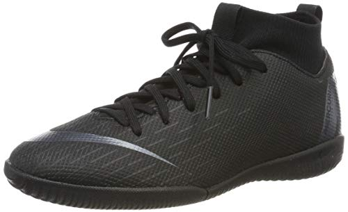 Nike Unisex-Kinder Fußballschuh Superfly VI Academy JDI IC Futsalschuhe, Schwarz Black 001, 37.5 EU