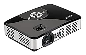 Merlin Pocket Projector 3D with Two 3D Active Glasses
