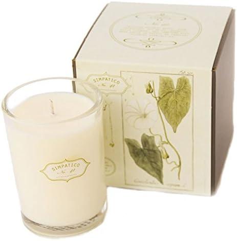 Simpatico Home Bougie parfumée No. 42 Bois de Rose et extraits de Fleurs 40 h | Sortie