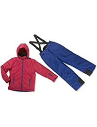 Tenue schneeanzug combinaison de ski garçon taille réglable 110, 128, 140, 152, 164