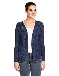 US Polo Womens Cotton Sweatshirt (UWFL0065_Black_X-L)