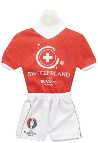 UEFA EURO 2016-Mini Trikot mit Saugnapf, 18 cm
