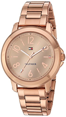 Tommy Hilfiger Analogue Rose Gold Dial Women's Watch (1781752) image