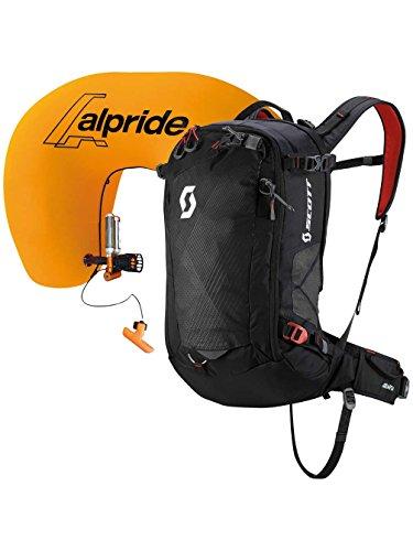 Scott Air Free AP 24 Kit Rucksack, Black/Burnt Orange, 54 x 28 x 18 cm