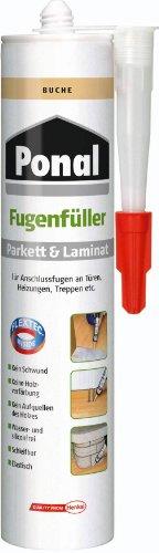 Ponal 395765 Parkett & Laminat Fugenfüller Buche 280 ml