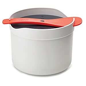 Joseph Joseph M-Cuisine Microwave Rice and Grain Cooker - Stone/Orange
