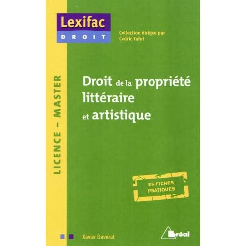 Droit de la propriété littéraire et artistique