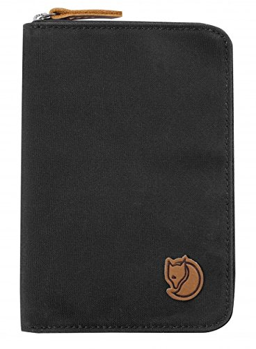Fjallraven Passport Wallet Document Holder Dark Grey