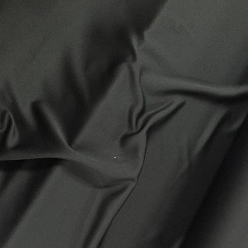 BLACK BLACKOUT FABRIC VENUS 150CM Fire Retardant for curtains, theater Stage Plain. Sold by the meter. (1 METER)