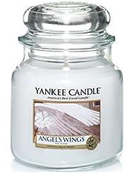 Yankee Candle 1306396E Bougie senteur Ailes d'Ange en jarre 411 g Rouge