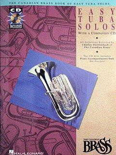 BOOK OF EASY TUBA SOLOS - arrangiert für Tuba - mit CD [Noten / Sheetmusic] Komponist: CANADIAN BRASS