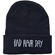 Bonnet Bad Hair Day Beanie hats , Simple , Haute Qualite , Fashion ,  Couleurs Multiples