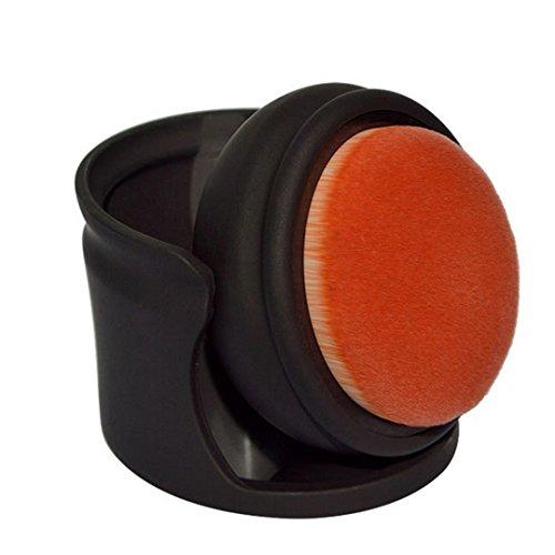 La haute Palm ovale Maquillage Brosse à air pour fond de teint poudre libre Blush Correcteur