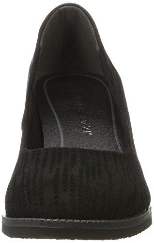 Marco Tozzi 22402, Scarpe con Tacco Donna Nero (Black Struct)
