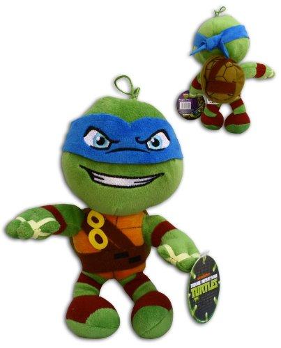 Leonardo 30cm Super Soft Plüsch Schildkröten Blau TMNT Comicserie Teenage Mutant Ninja Turtles Turtler Spielzeug Figur Hero (Teenage Mutant Farben Ninja Turtle)