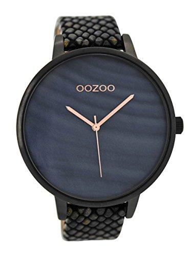 Oozoo Damenuhr mit Lederband Schwarz 42 mm C8924