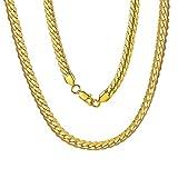 Collana con Ciondolo in Oro Placcato Oro Reale Cubano Collana con Ciondolo per i Regali di Compleanno Romantici delle Donne degli Uomini di Miami