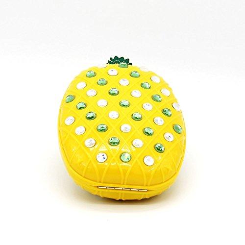 B-JOY, Poschette giorno donna bianco Beige taglia unica Ananas