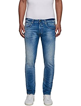 Replay Herren Straight Jeans Grover