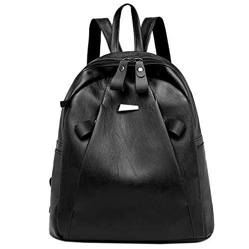 Damen Einbruchsicherer Rucksack Casual Studentententasche Headset-Tasche Reisetasche Leichter Rucksack für Frauen Herren Free schwarz - Auf Rädern-reise-rucksack