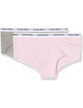 Calvin Klein Mädchen Unterhose 2pk Shorty