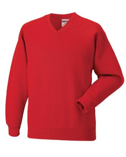 Russell Athletic -  Felpa  - Uomo Rot - Bright Red