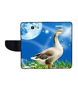 KolorEdge Printed Flip Cover For Samsung Galaxy S3 neo Multicolor - (45KeMlogo10201SamS3Neo)
