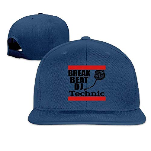 AASPOZ Classic Baseball Cap Break Beat Dj Technic Flat Bill Students Cool Outdoors Hat